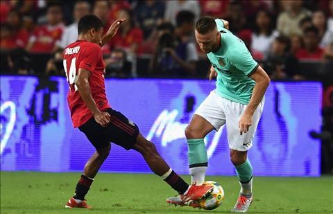 MU vs Inter Lingard