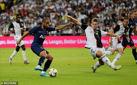Tan binh De Ligt duoc Juventus dua vao san trong hiep 2 va phai chung kien doi nha nhan 2 ban thua