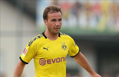 Dortmund tiết lộ Mario Gotze vẫn chưa chốt tương lai hình ảnh