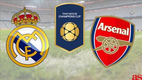 Real Madrid vs Arsenal 6h00 ngày 247 (ICC 2019) hình ảnh