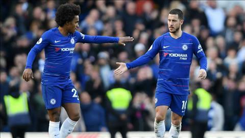 Willian tuyên bố đã được thừa kế áo số 10 Chelsea từ Hazard hình ảnh