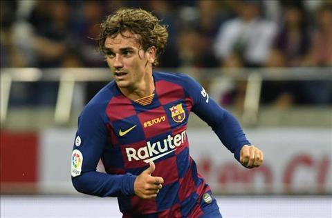Atletico cấm Barca đăng ký tiền đạo Antoine Griezmann hình ảnh