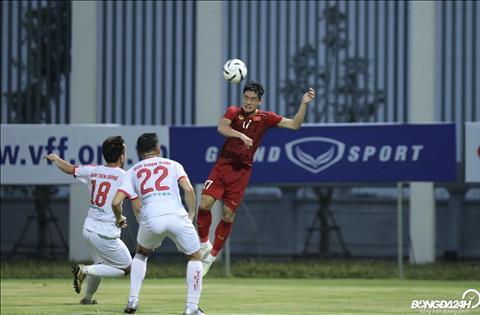 U23 Việt Nam 2-0 Viettel (KT) Hai tuyển thủ hạng Nhất lập công, U23 Việt Nam đánh bại đội bóng V-League 2019 hình ảnh 3