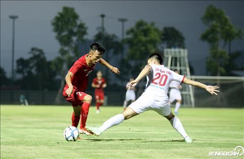 U23 Việt Nam 2-0 Viettel (KT) Hai tuyển thủ hạng Nhất lập công, U23 Việt Nam đánh bại đội bóng V-League 2019 hình ảnh 4