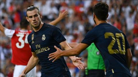 HLV Zinedine Zidane nói về Gareth Bale sau trận thắng Arsenal hình ảnh