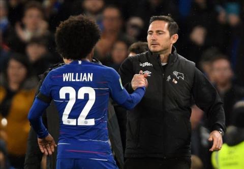 Lampard noi them ve Willian