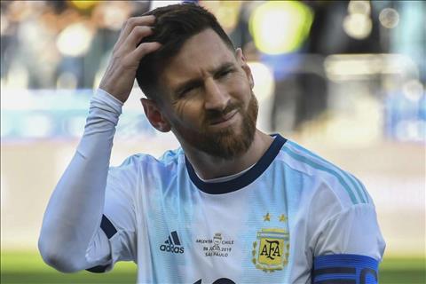 Lionel Messi nhận án phạt vì chỉ trích Copa hình ảnh