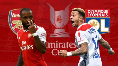 Trực tiếp Arsenal vs Lyon giao hữu bóng đá 2019 đêm hôm nay 287 hình ảnh