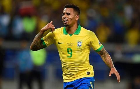 Brazil Gabriel Jesus toa sang