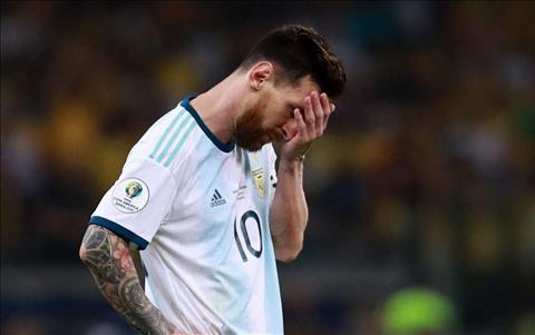 Messi va Argentina bi loai