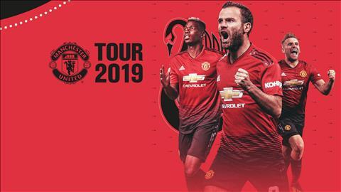 Lịch thi đấu tour du đấu MU hè 2019 - LTĐ giao hữu của MU tại ICC hình ảnh