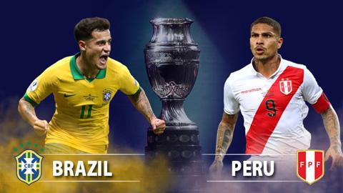 Lịch thi đấu chung kết Copa America 2019 - LTĐ Brazil vs Peru hình ảnh
