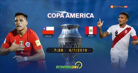 Chile vs Peru xem trực tiếp bán kết Copa America 2019 ở đâu  hình ảnh