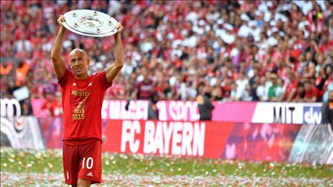 Tiền vệ Arjen Robben giải nghệ ở tuổi 35 hình ảnh