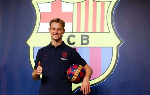 De Jong ra mắt Barca và tiết lộ về giấc mơ thành sự thật hình ảnh