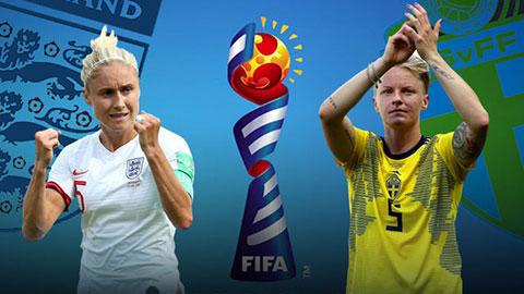 Nữ Anh vs Nữ Thụy Điển 22h00 ngày 67 (World Cup nữ 2019) hình ảnh