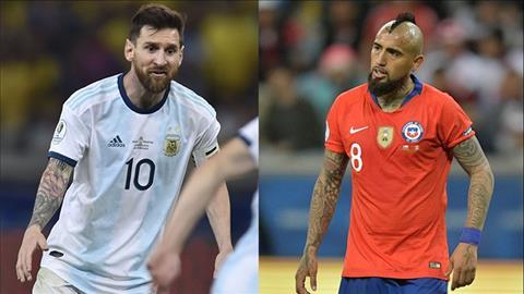 Kết quả bóng đá Copa America hôm nay 77 KQBD Argentina vs Chile hình ảnh
