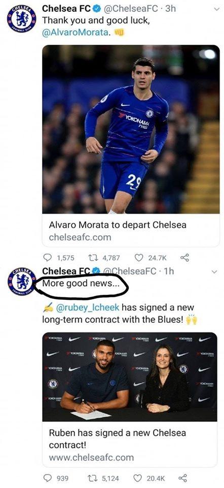 Chelsea trơ tráo ăn mừng sau khi chính thức rảnh nợ Morata hình ảnh 2