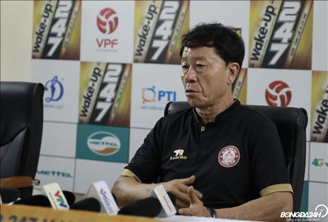 HLV Chung Hae Song nói về cuộc đua vô địch V-League 2019 hình ảnh
