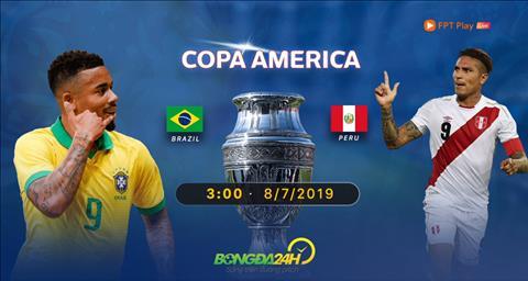 Brazil vs Peru Link Xem trực tiếp chung kết Copa America 2019 hình ảnh