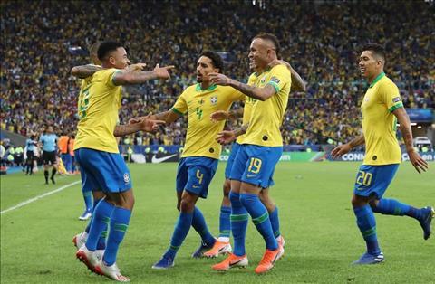 Brazil vs Peru Jesus va Everton ghi ban