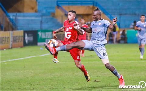 CLB Viettel to chuc duoc nhieu dot len bong nguy hiem ve phia CLB TP Ho Chi Minh.