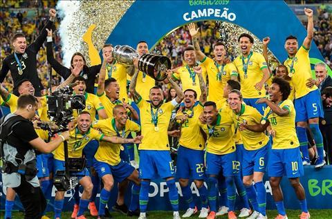 Đội hình tiêu biểu Copa America 2019 Brazil thống trị hình ảnh