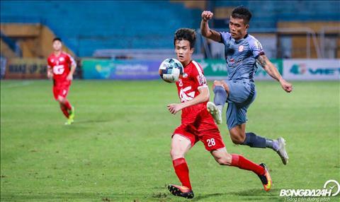 Trong nhung phut con lai, ca hai doi deu khong ghi them duoc ban thang nao, Viettel thang TP Ho Chi Minh de leo len vi tri thu 6 trong BXH V-League 2019.