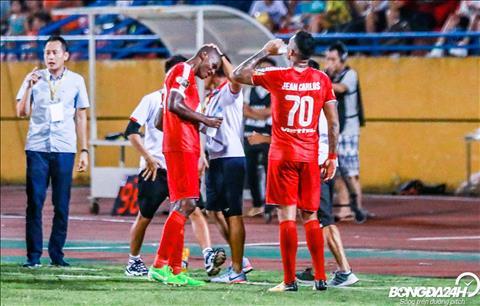 Bo doi tan binh cua CLB Viettel co man khoi dau my man o V-League 2019.