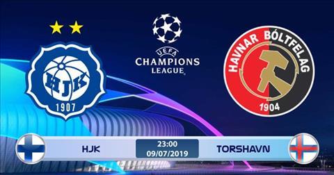 HJK Helsinki vs Torshavn 23h00 ngày 97 (Champions League 201920) hình ảnh