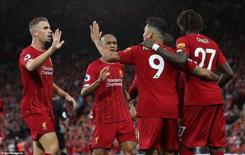 Liverpool 4-1 Norwich vòng 1 Premier League 201920 hình ảnh