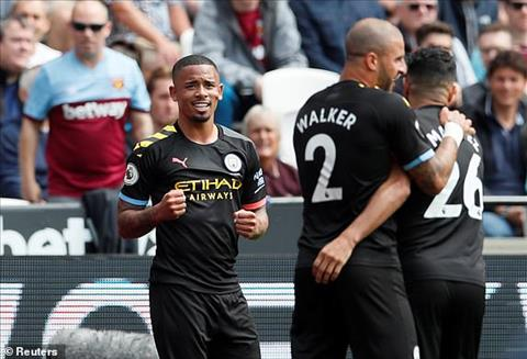 Chung cuoc Man City danh bai West Ham 5-0