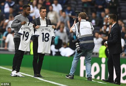 Giovani Lo Celso and Ryan Sessegnon