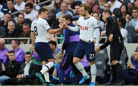 Tottenham 3-1 Aston Villa: Christian Eriksen
