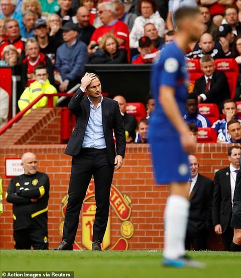 Phản ứng của Lampard sau trận thua MU thế nào hình ảnh