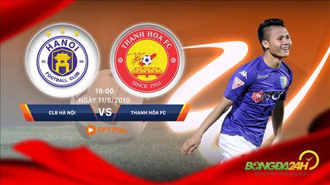 Trực tiếp bóng đá Hà Nội vs Thanh Hóa V-League 2019 trên FPT Play hình ảnh