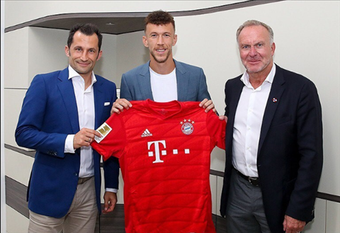 Bayern Munich chinh thuc co Ivan Perisic