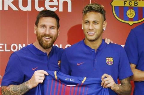 Messi ngăn cản Neymar tới Real Madrid hình ảnh