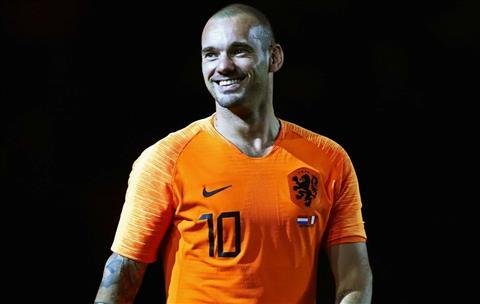 Huyền thoại Hà Lan, Wesley Sneijder từ giã sự nghiệp thi đấu hình ảnh