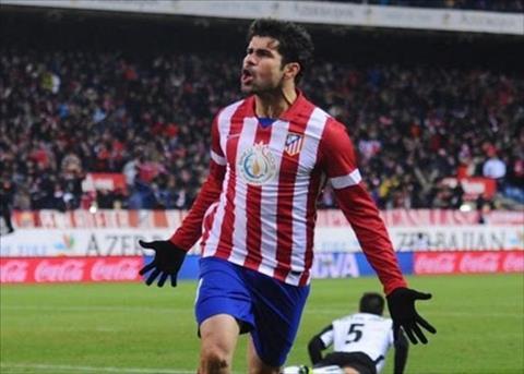 Diego Costa dính chấn thương, Atletico méo mặt hình ảnh