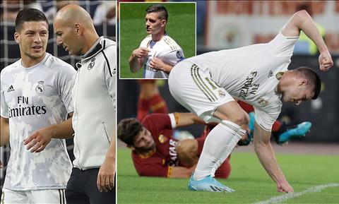 Thực hư chuyện Luka Jovic rời Real Madrid theo dạng cho mượn hình ảnh