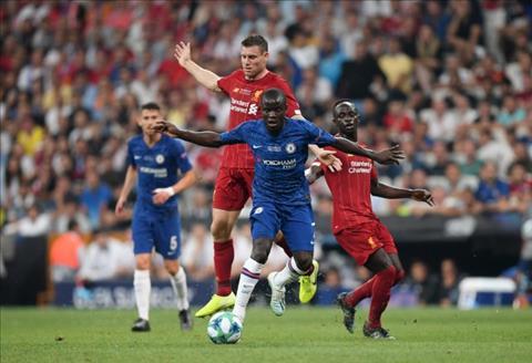 Liverpool vs Chelsea Hài hước hình ảnh Kante theo kèm Van Dijk hình ảnh