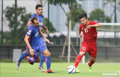 Martin Lò ghi bàn vào lưới Kitchee Hành động thú vị sau trận đấu hình ảnh