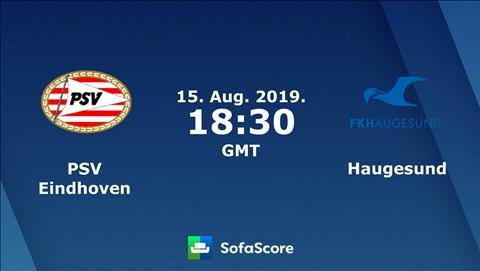 PSV Eindhoven vs Haugesund 1h30 ngày 168 Europa League 201920 hình ảnh
