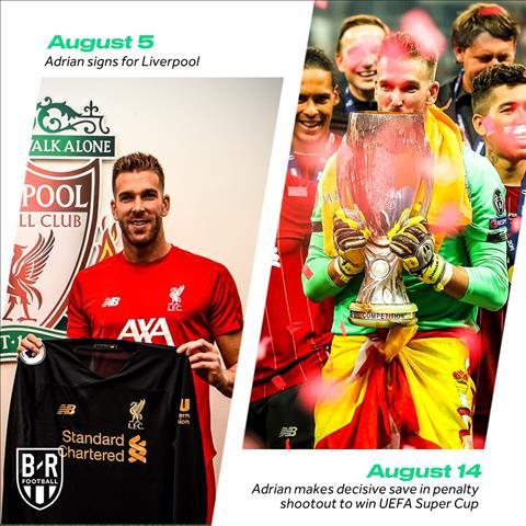 Thủ môn Adrian Từ kẻ thất nghiệp đến người hùng của Liverpool hình ảnh