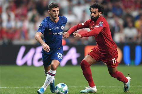 Liverpool vs Chelsea Pulisic di bong