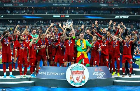 Liverpool vo dich Sieu cup 2019