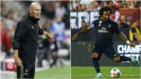 HLV Zidane nói về tương lai Marcelo hình ảnh