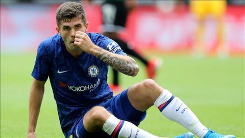 Christian Pulisic nói về phong độ trong màu áo Chelsea hình ảnh