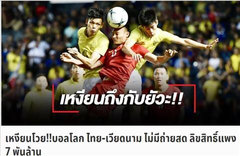 Báo Thái nói gì khi người Việt chê bản quyền vòng loại World Cup 2022  hình ảnh